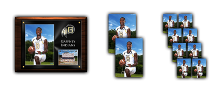 9x12 Photo Plaque Package