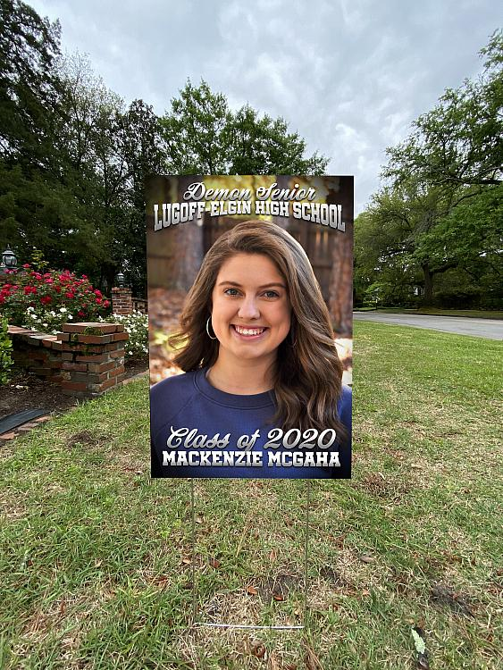 Vertical Yard Sign with Your Image | Vertical_yard_sig-own_image.jpg